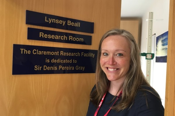 Image of Lynsey Beall SW Peninsula Clinical Research Network Nurse